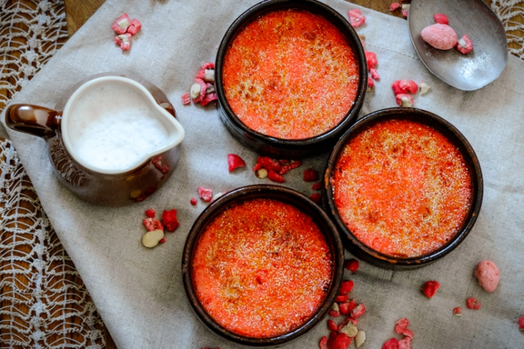 Crème brulée pralines 3